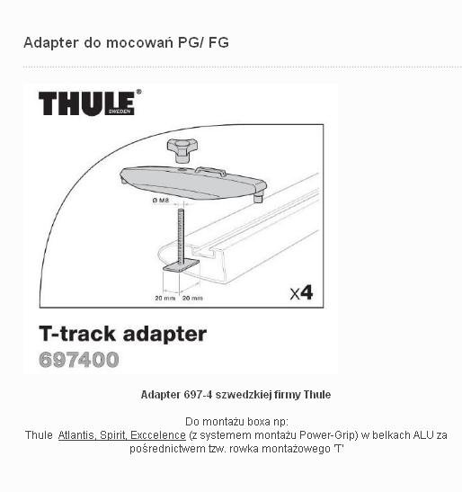 Thule adapter 697-4